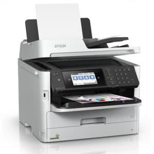 Imprimante multifonction couleur A4 Epson latéral gauche